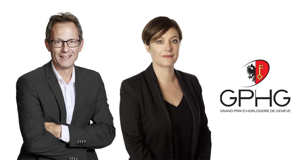 GHPG Elisabeth Saulcy et Hubert Lorenz membres du Jury